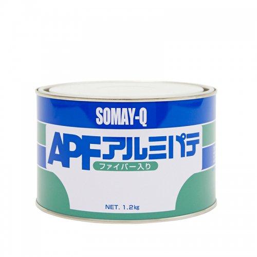 染めQテクノロジィ / アルミパテファイバー入り 1.2kgセット(主剤1.2kg+硬化剤30g)