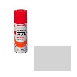 ロックペイント / H62-8301 元気アクリルラッカースプレー 銀 300ml