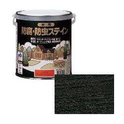 ロックペイント / H85-3004 水性防腐防虫ステイン エボニー 4L