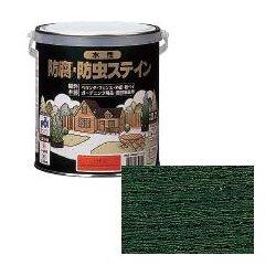 ロックペイント / H85-3006 水性防腐防虫ステイン グリーン 4L