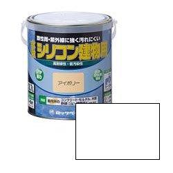 ロックペイント / H11-0100 水性シリコン建物用 しろ 1.6L