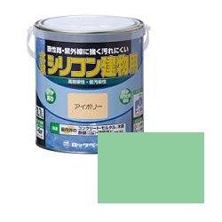 ロックペイント / H11-1103 水性シリコン建物用 うすみどり 1.6L