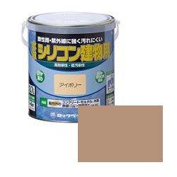 ロックペイント / H11-1107 水性シリコン建物用 ちゃいろ 1.6L