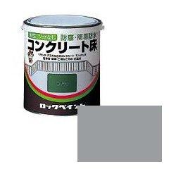 ロックペイント / H82-0119 水性コンクリート床 グレー 3L