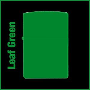 【オリジナルジッポー製作】zippoライター #200 Leaf Green(リーフグリーン)