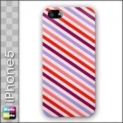 スタスタiPhone5ハードケース レトロストライプtypeB 【fds-00102-i5】