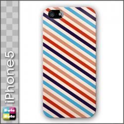 スタスタiPhone5ハードケース レトロストライプtypeD 【fds-00104-i5】