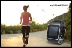 【送料込】軽快タッチ液晶mp3スマートウオッチ mp3 SmartWatch 腕時計型音楽プレーヤー クリスマスプレゼントに!Bluetoothによるトランスミッター機能装…