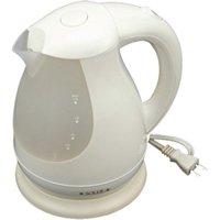 スイッチ自動OFF機能搭載!電気湯沸かしケトル1.5L LEDランプで沸騰をお知らせ 湯量メモリ付