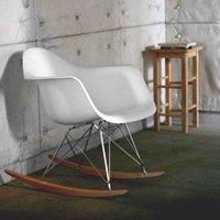 イームズアームシェルチェア(ABS樹脂)全3色 脚部ロッキングタイプ デザイナーズ家具リプロダクト