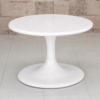 ローテーブル 直径60cm ラウンドテーブル サイドテーブル 円卓 ラウンドローテーブル 飾り台 FRP製