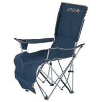 リクライニングレジャー椅子フットレスト付 キャンプの必需品アウトドアチェアー 専用キャリーバッグ付