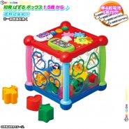 パズル ボックス 単四電池4本付 赤ちゃん おもちゃ 形 はめる ブロック 音 あかちゃん 楽しい 遊ぶ おもちゃ プレゼント 知育玩具 1.5才以上