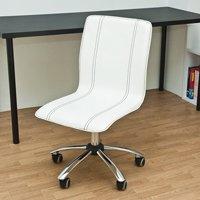オフィスチェア 合成皮革 パソコンチェア 椅子 PCチェア デスクチェア イス PUキャスター付