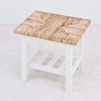 アバカ素材ロータイプ・スツール/全2色 カフェに最適アジアンテイストチェア マニラ麻・ヘンプ仕様