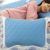 熱帯夜の必需品!快眠クールパス枕パッド ムレにくい通気性抜群のサラサラ枕カバー 洗濯OK