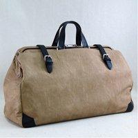 日本製 バックスキン調 ボストンバッグ ダレスバッグ 国産かばん 旅行かばん 出張用鞄 本革ハンドル
