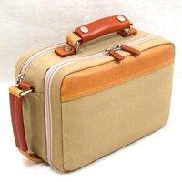 帆布製ハンドル付セカンドバッグ,日本製/全2色 帆布バッグ,メンズ鞄,国産かばん,豊岡鞄 本革取っ手