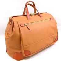 日本製フェイクレザートラベルバッグ/全2色 ダレスボストンバッグ,メンズ鞄,国産かばん 本革ハンドル