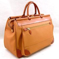 日本製 フェイクレザー ボストンバッグ マリエラ天棒 旅行鞄 トラベルバッグ 出張用 本革ハンドル