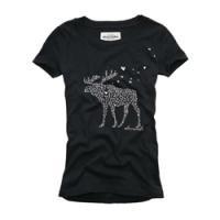 ハートでできたロゴがかわいいTシャツ☆<br /> abercrombie:patricia heritage -NY