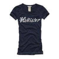 シンプルで控えめ。でもアピールTシャツ!<br />Hollister Co.:Royal Palms -W