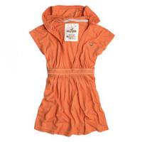 明るく元気なオレンジ☆ニットパーカー!<br />Hollister Co.:Warner Springs-O