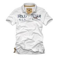 爽やかさ100%のホワイト◎ホリスターのロゴポロシャツ☆<br />Hollister Co.:Moor Park -W