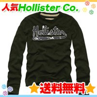ホリスター【送料無料】ワッフルロングTシャツ,ロンT☆Hollister Co.:Fountain Valley-OL☆秋春メンズ♪