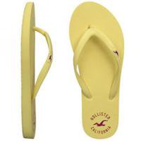 ホリスターの可愛いビーチサンダル☆<br />Hollister Co.:Rubber Flip Flops-YE