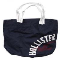 大きめロゴがかわいい!ホリスターのキャンバストート Hollister Co.:1st JettyTote -NY