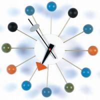 ジョージ・ネルソン ボールクロック 壁掛時計 掛け時計☆ネルソンクロック☆デザイナーズ雑貨♪