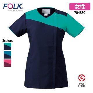 《レディース》ジップスクラブ(FOLK/フォーク)7048SC