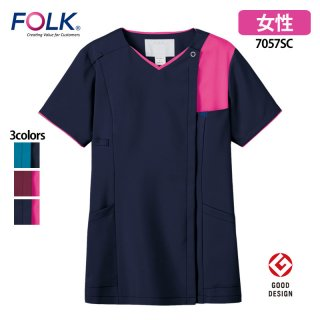 《レディース》ジップスクラブ(FOLK/フォーク)7057SC