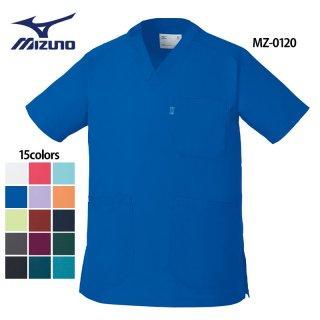 《男女兼用》クールマックス スクラブ(MIZUNO/ミズノ)MZ-0120|スクラブ・白衣(ナース服・看護服)などのメディカルウェア・ユニフォーム・ワーキングウェアの通販【スターク】