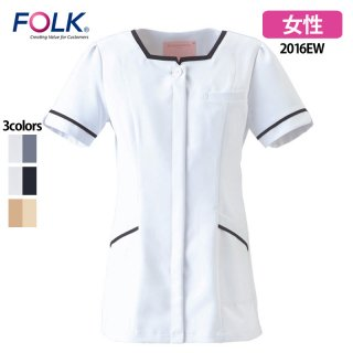 《レディース》SEK制菌 チュニック(FOLK/フォーク)2016EW|スクラブ・白衣(ナース服・看護服)などのメディカルウェア・ユニフォーム・ワーキングウェアの通販【スターク】