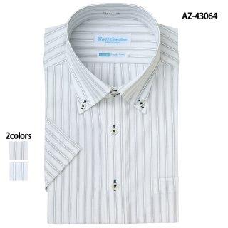 《メンズ》半袖ドゥエボットーニボタンダウンシャツ(AITOZ)|スクラブ・白衣(ナース服・看護服)などのメディカルウェア・ユニフォーム・ワーキングウェアの通販【スターク】