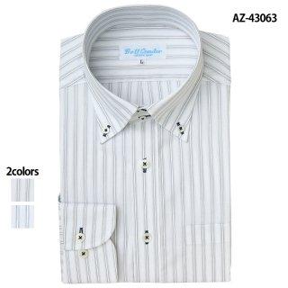 《メンズ》長袖ドゥエボットーニボタンダウンシャツ(AITOZ)|スクラブ・白衣(ナース服・看護服)などのメディカルウェア・ユニフォーム・ワーキングウェアの通販【スターク】