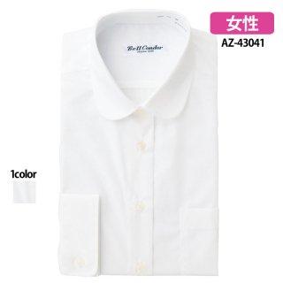 《レディース》ラウンドカラーシャツ(580)(AITOZ)|スクラブ・白衣(ナース服・看護服)などのメディカルウェア・ユニフォーム・ワーキングウェアの通販【スターク】