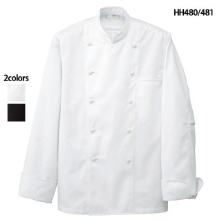 《男女兼用》コックコート(AITOZ)|スクラブ・白衣(ナース服・看護服)などのメディカルウェア・ユニフォーム・ワーキングウェアの通販【スターク】