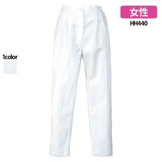 《レディース》脇シャーリングパンツ(Lumiere)|スクラブ・白衣(ナース服・看護服)などのメディカルウェア・ユニフォーム・ワーキングウェアの通販【スターク】