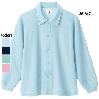 《男女兼用》院内着 上着(AITOZ)|スクラブ・白衣(ナース服・看護服)などのメディカルウェア・ユニフォーム・ワーキングウェアの通販【スターク】