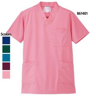 《男女兼用》ニットスクラブ(Lumiere/AITOZ)861401|スクラブ・白衣(ナース服・看護服)などのメディカルウェア・ユニフォーム・ワーキングウェアの通販【スターク】