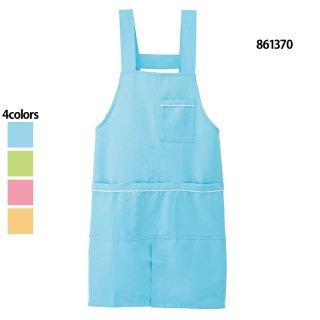 《男女兼用》パイピングエプロン(AITOZ)861370|スクラブ・白衣(ナース服・看護服)などのメディカルウェア・ユニフォーム・ワーキングウェアの通販【スターク】