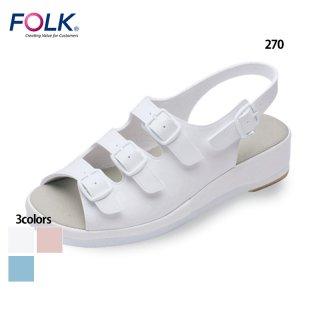 《男女兼用》コンフォートサンダル(FOLK) スクラブ・白衣(ナース服・看護服)などのメディカルウェア・ユニフォーム・ワーキングウェアの通販【スターク】