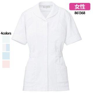 《レディース》パイピングチュニック(Lumiere)|スクラブ・白衣(ナース服・看護服)などのメディカルウェア・ユニフォーム・ワーキングウェアの通販【スターク】