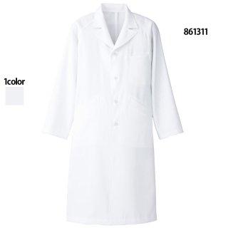 《メンズ》セミピーク型診察衣(Lumiere)|スクラブ・白衣(ナース服・看護服)などのメディカルウェア・ユニフォーム・ワーキングウェアの通販【スターク】