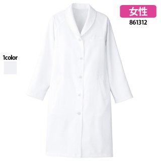 《レディース》ショールカラー診察衣(Lumiere)|スクラブ・白衣(ナース服・看護服)などのメディカルウェア・ユニフォーム・ワーキングウェアの通販【スターク】