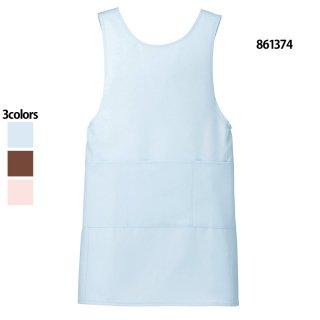 《男女兼用》エプロン(Lumiere)861374|スクラブ・白衣(ナース服・看護服)などのメディカルウェア・ユニフォーム・ワーキングウェアの通販【スターク】