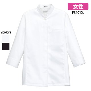 《レディース》スタンドコックシャツ(FACE MIX)|スクラブ・白衣(ナース服・看護服)などのメディカルウェア・ユニフォーム・ワーキングウェアの通販【スターク】